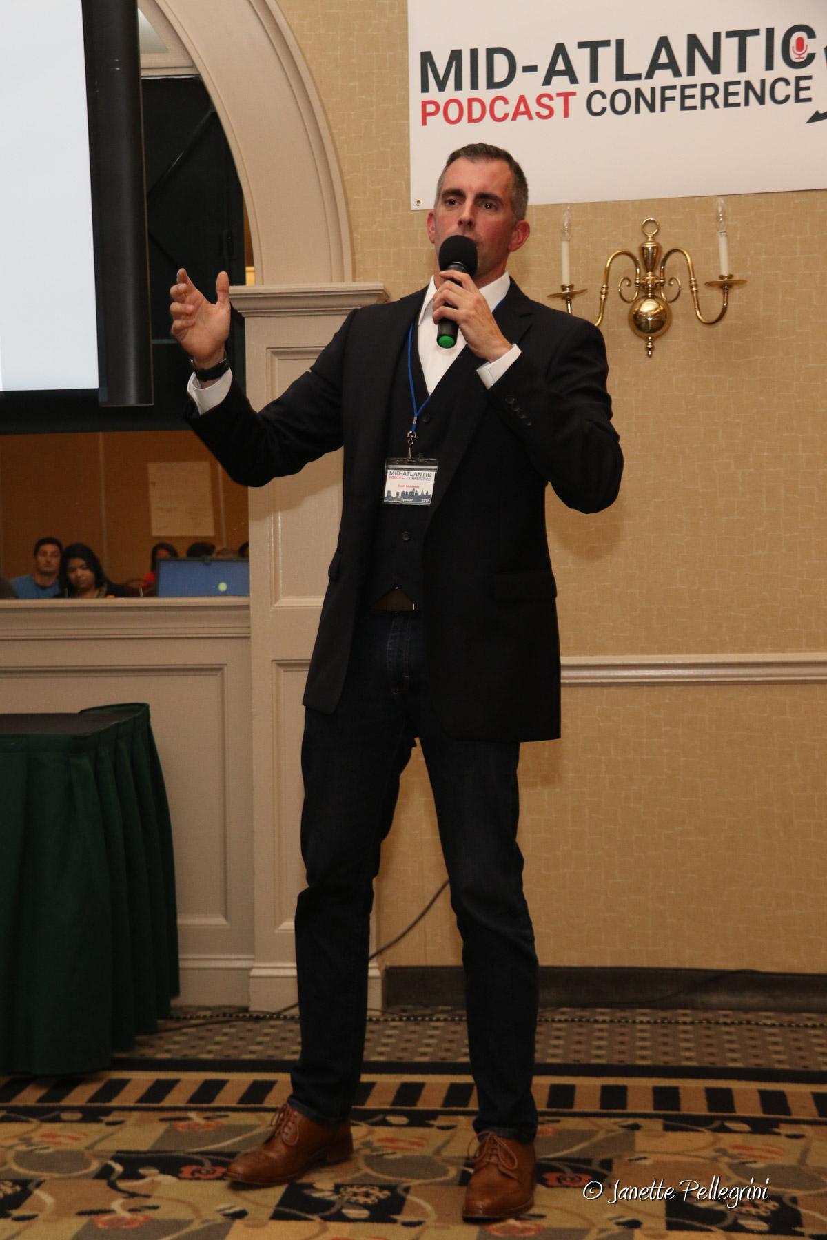 Public Speaker Scott Mulvaney of LIVETHEFUEL at MAPCON 2017
