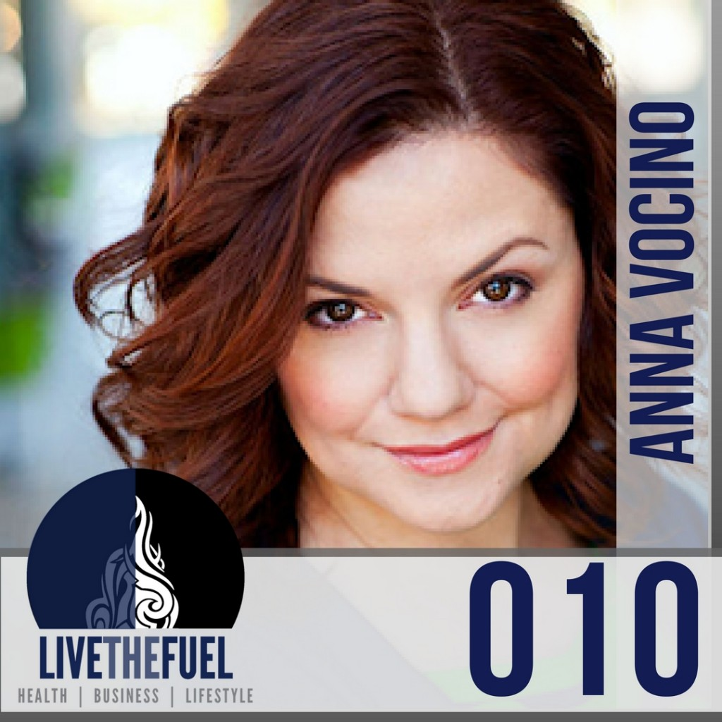 Episode 010 of LIVETHEFUEL Eat Happy & NSNG with Anna Vocino (1)