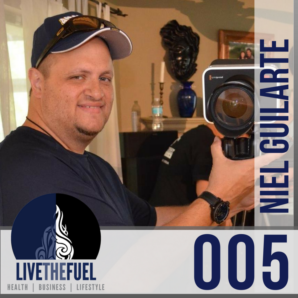 100lb weightloss journey & funding the messenger on Indiegogo with Niel Guilarte