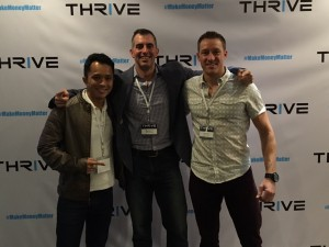 The Insta Guy Tony Huyhn, Scott Mulvaney  and Luke Depron at THRIVE