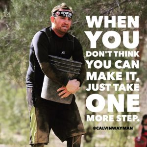 Calvin Wayman author of Fish Out of Water Spartan