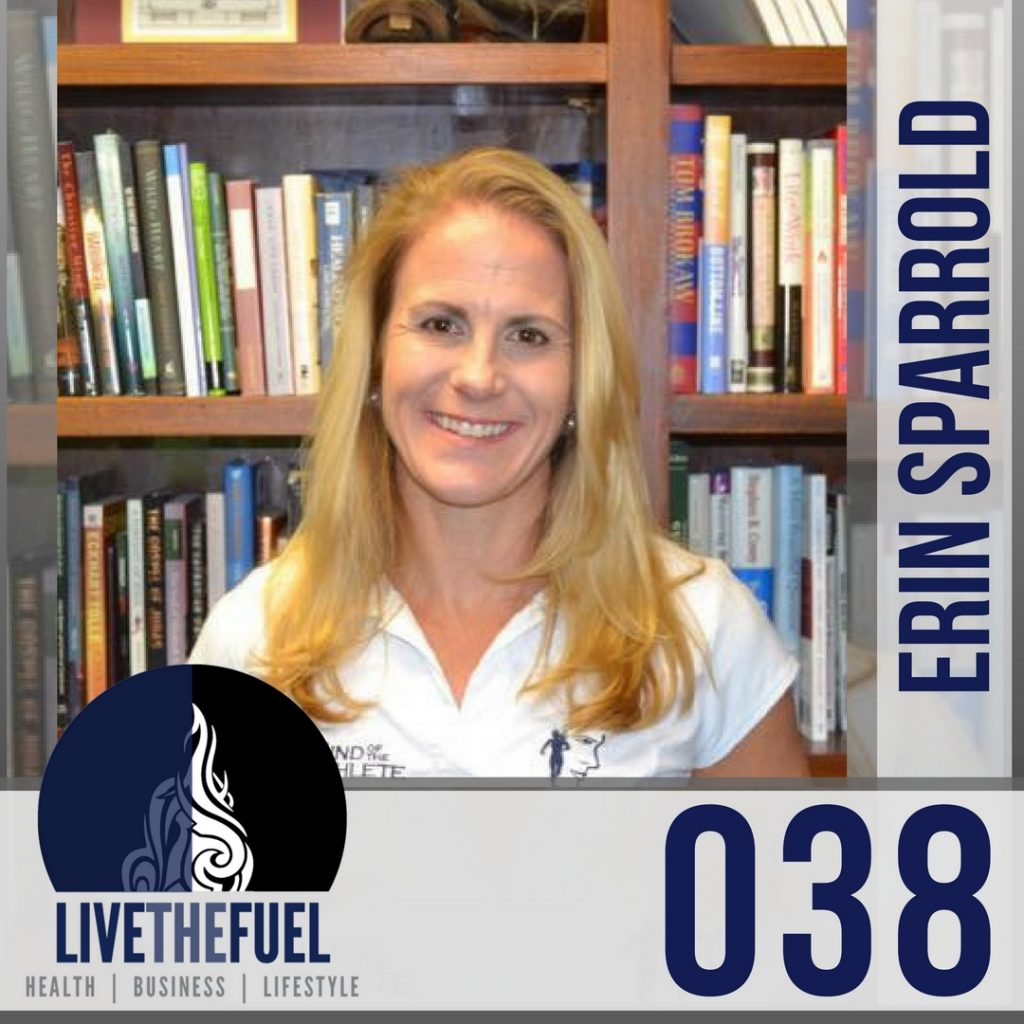 038 2017 Nutrition Balance with Erin Sparrold on LIVETHEFUEL