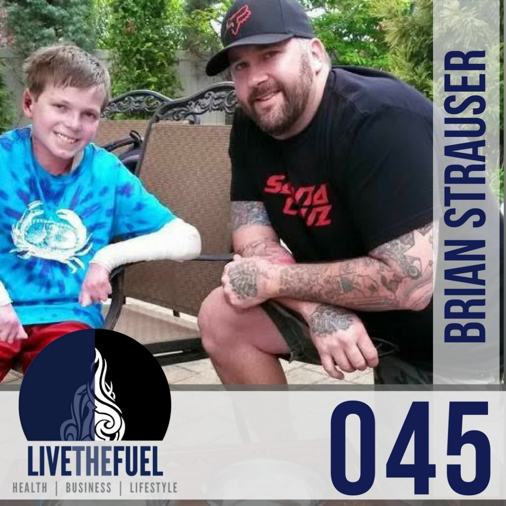 045: Strauser Project Returns, Kettlebells, Isagenix, Epidermolysis Bullosa