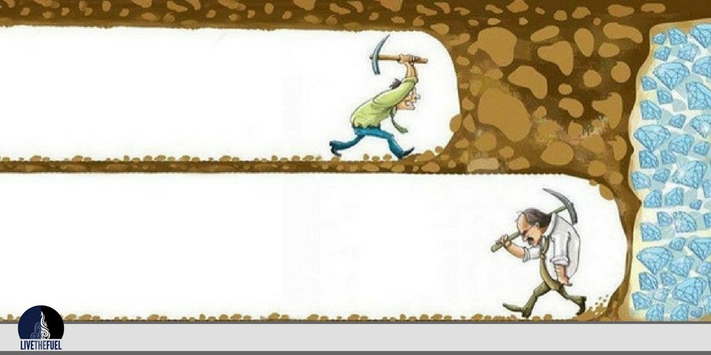 Never Give UP - LIVETHEFUEL