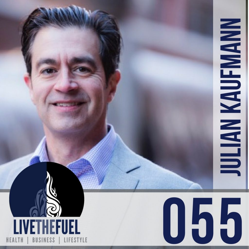 055: Let Go! Let It Flow and #THRIVE17 with Julian Kaufmann