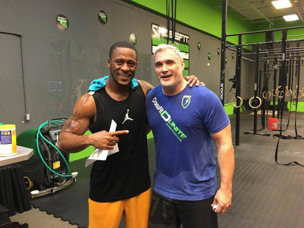 Scott Aubinoe ISACROSSFITTER CrossFitTTG and NFL Willie Parker aka Fast-Willie