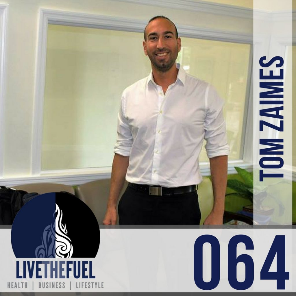 064 Vibing Energies with Tom Zaimes LIVETHEFUEL