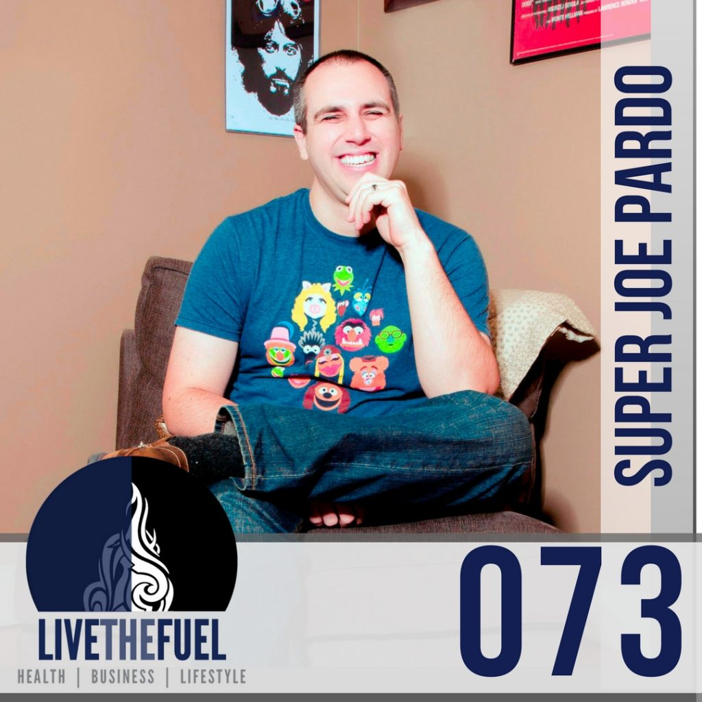 073 DreamCon and MAPCON founder Super Joe Pardo cohosts LIVETHEFUEL