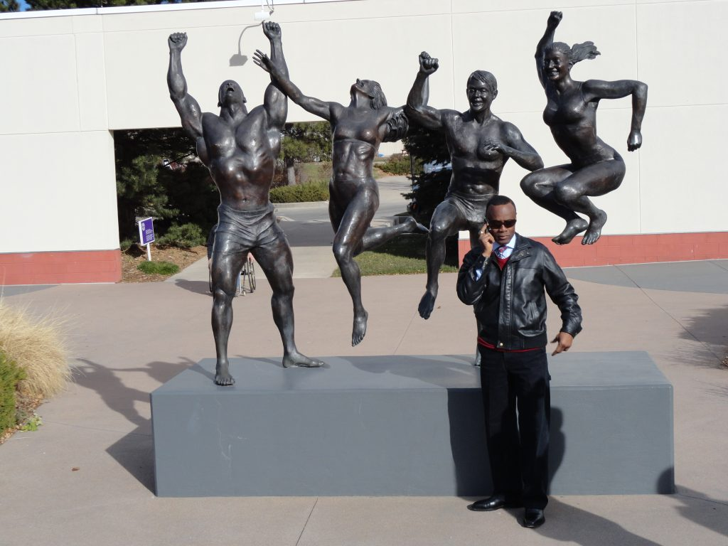 Olympic Sculptures visit with Buddy Lee the Jump Rope Expert LIVETHEFUEL