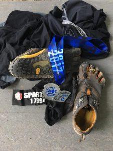 Spartan Super Race Gear Vibram Five Fingers shoes chosen by Scott Mulvaney of LIVETHEFUEL