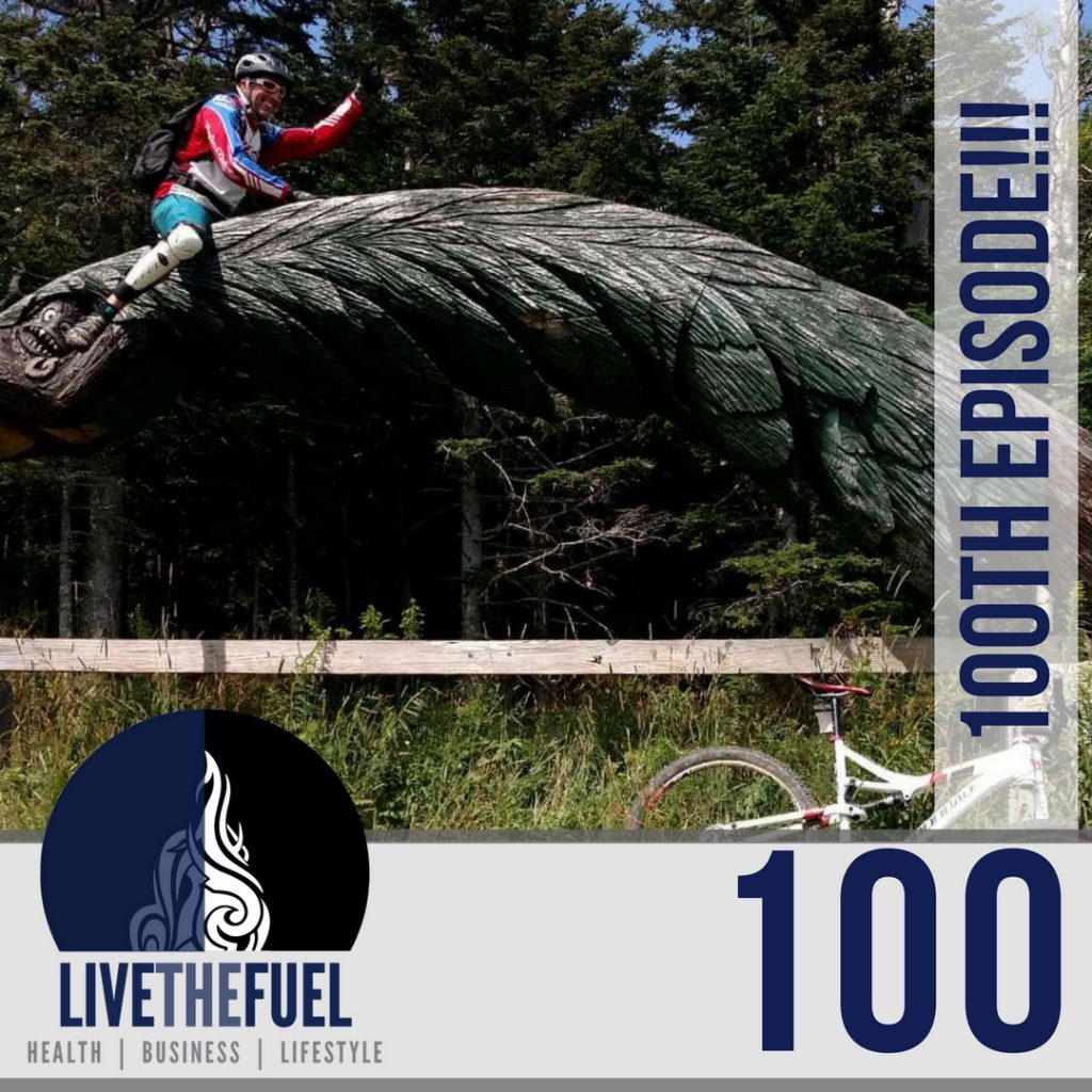 100th Podcasting Episode in Killington VT for Downhill Mountain Biking, Golf, and more for LIVETHEFUEL