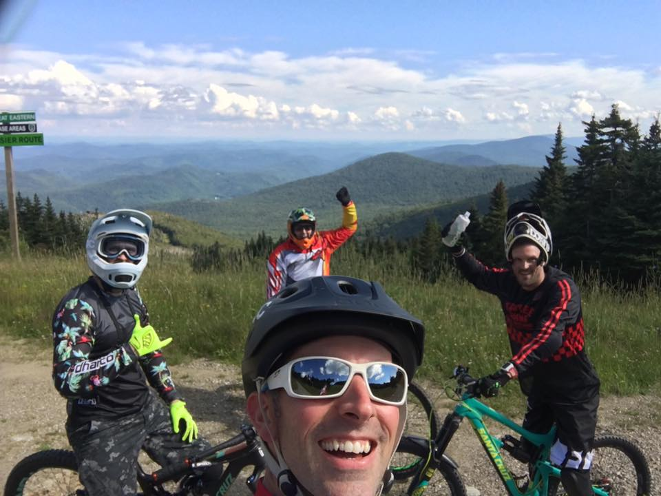 Epic Downhill Mountain Biking here on the Killington Resort property in Vermont.