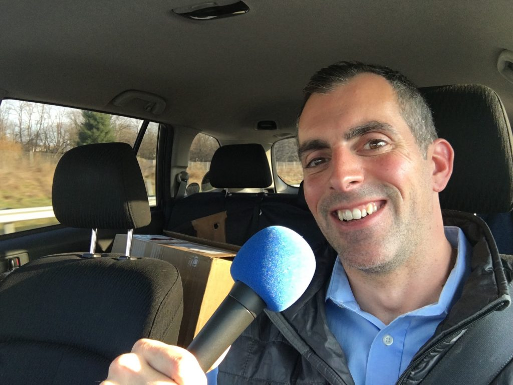 Mobile Podcasting for Thanksgiving-On-The-Street with the StreetCorner Gourmets of Yes!Solutions
