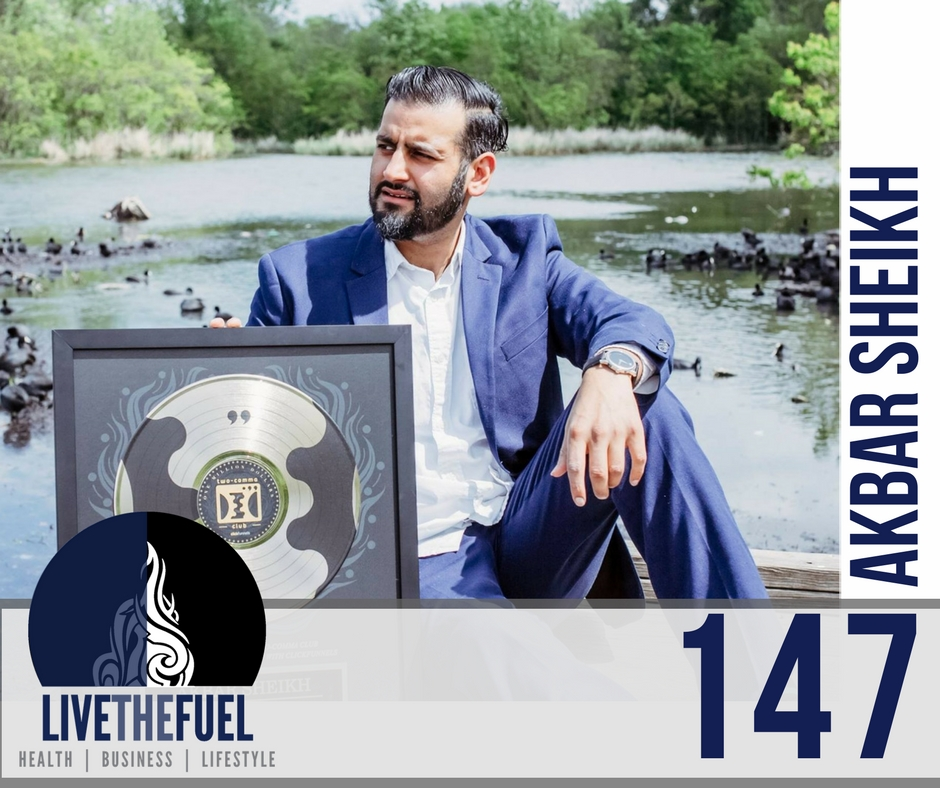 147: From Unhealthy & Penniless to 7 Figure Ethical Sales Funnels with Akbar Sheikh