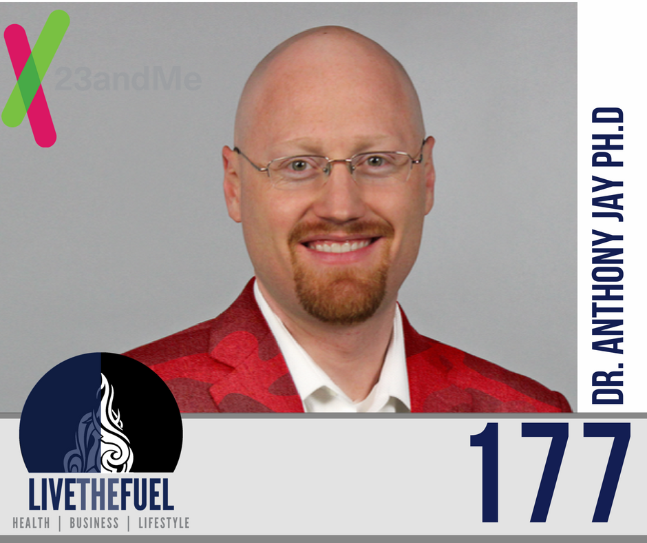 Episode 177 My 23andMe Supplement Health Analysis Dr. Anthony Jay