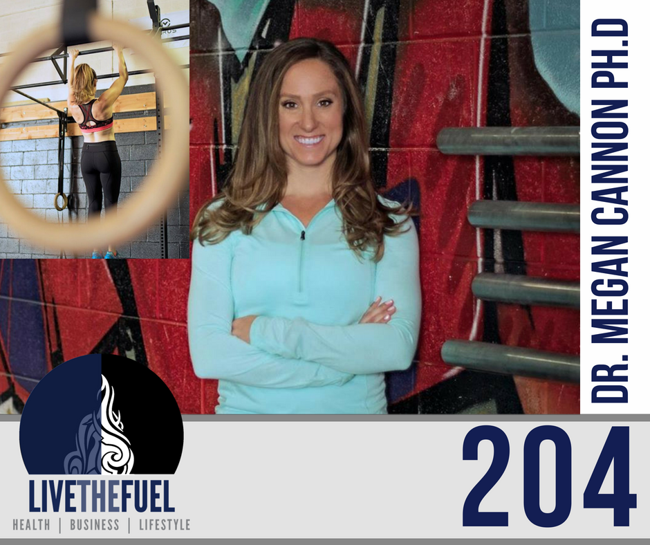 Podcast 204: LIVE, Masculine vs Feminine Energy with Dr. Megan Cannon Ph.D.