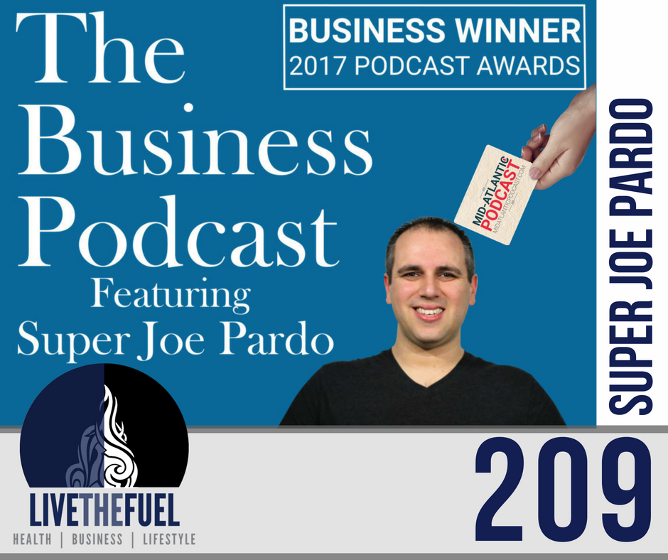 Podcast 209: MAPCON 2018 and Returning Home with Super Joe Pardo on LIVETHEFUEL