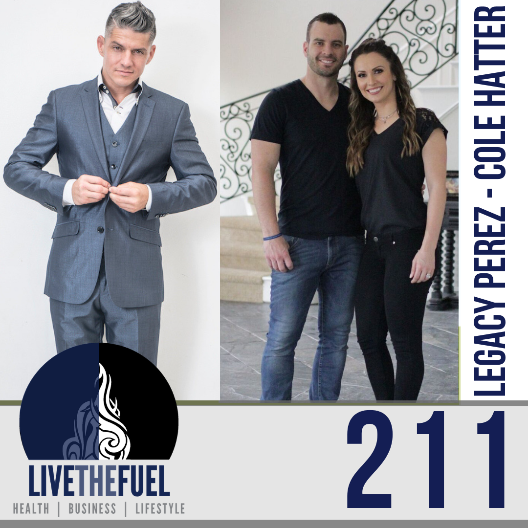 Follow @colehatter and @legacyperez on Instagram for Real Estate Lifestyle, THRIVE, and more!