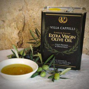 LIVETHEFUEL and Scott Mulvaney use Villa Cappelli Olive Oil