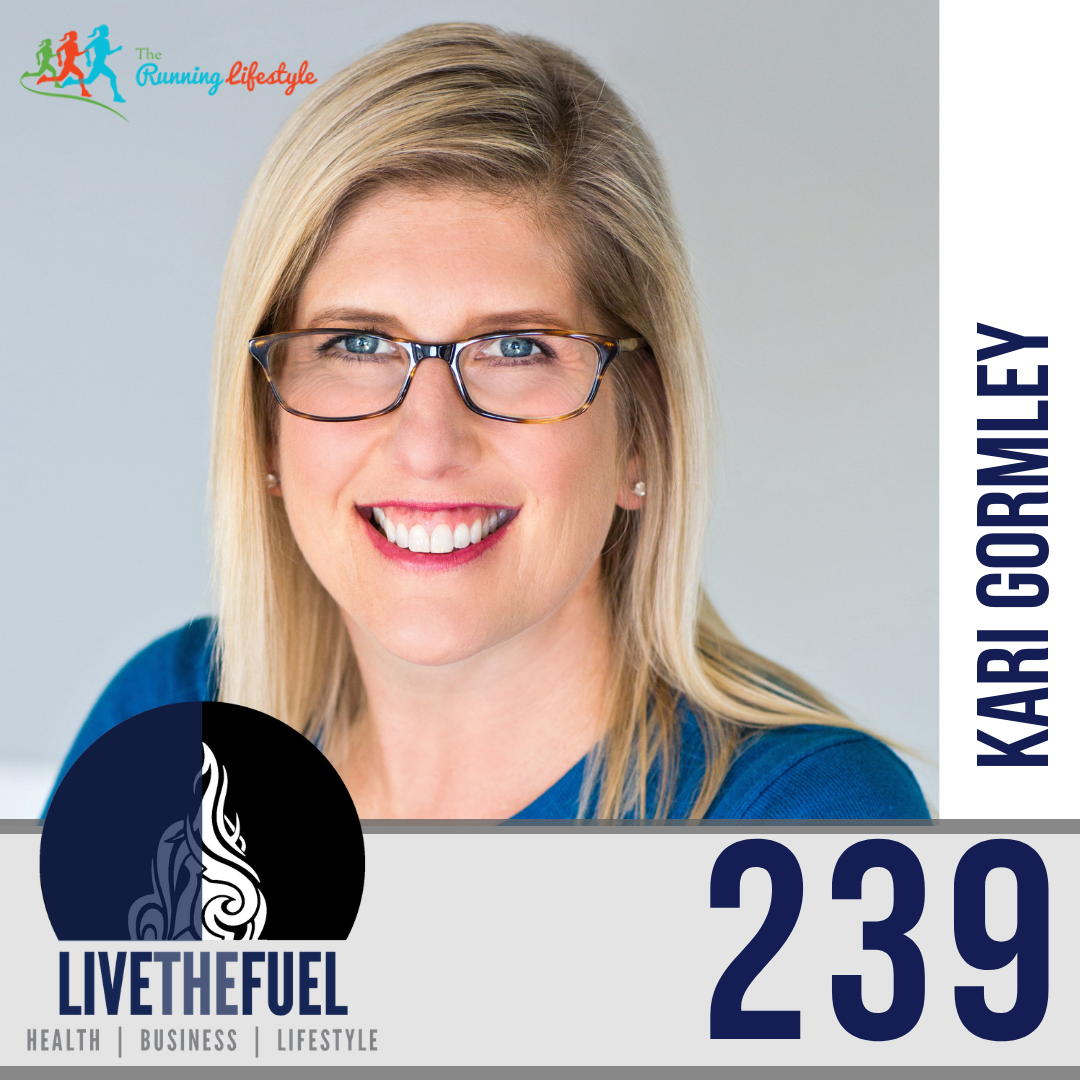Follow @KariGormley on Instagram for Flow, Energy, Psychology, and The Running Lifestyle Podcast
