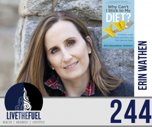 Health Podcast 244: Diet Challenges, Gut Health, Food Plate Drama with Erin Wathen