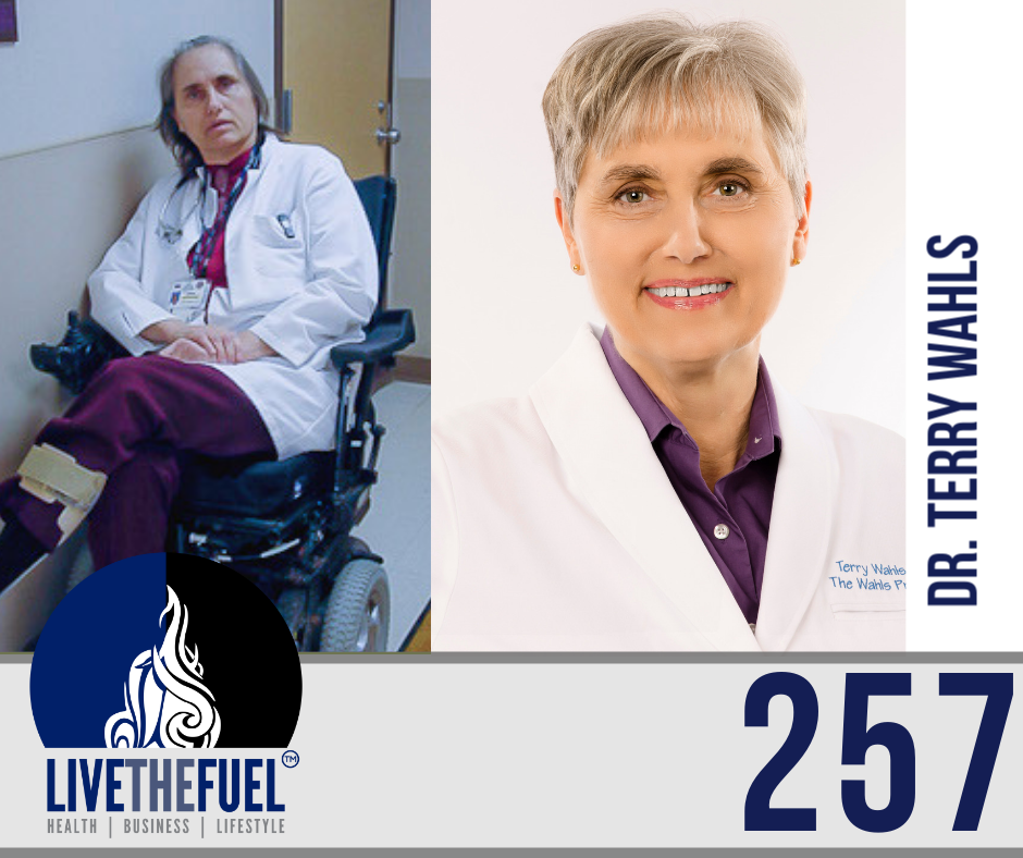 Health Podcast 257: A Healthy Poop In You with Dr. Terry Wahls on LIVETHEFUEL