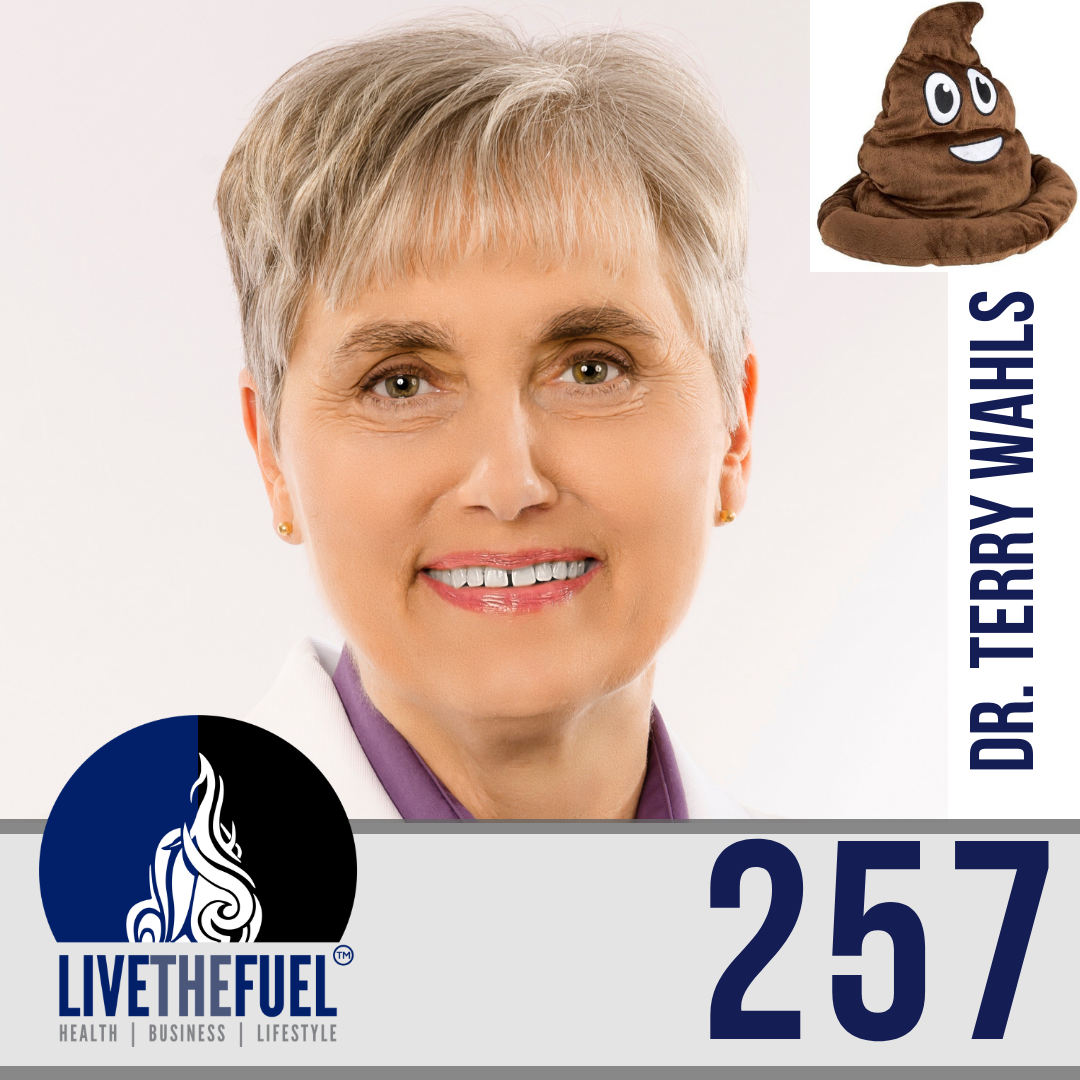 Follow @DrTerryWahls from Health Podcast 257: A Healthy Poop In You with Dr. Terry Wahls