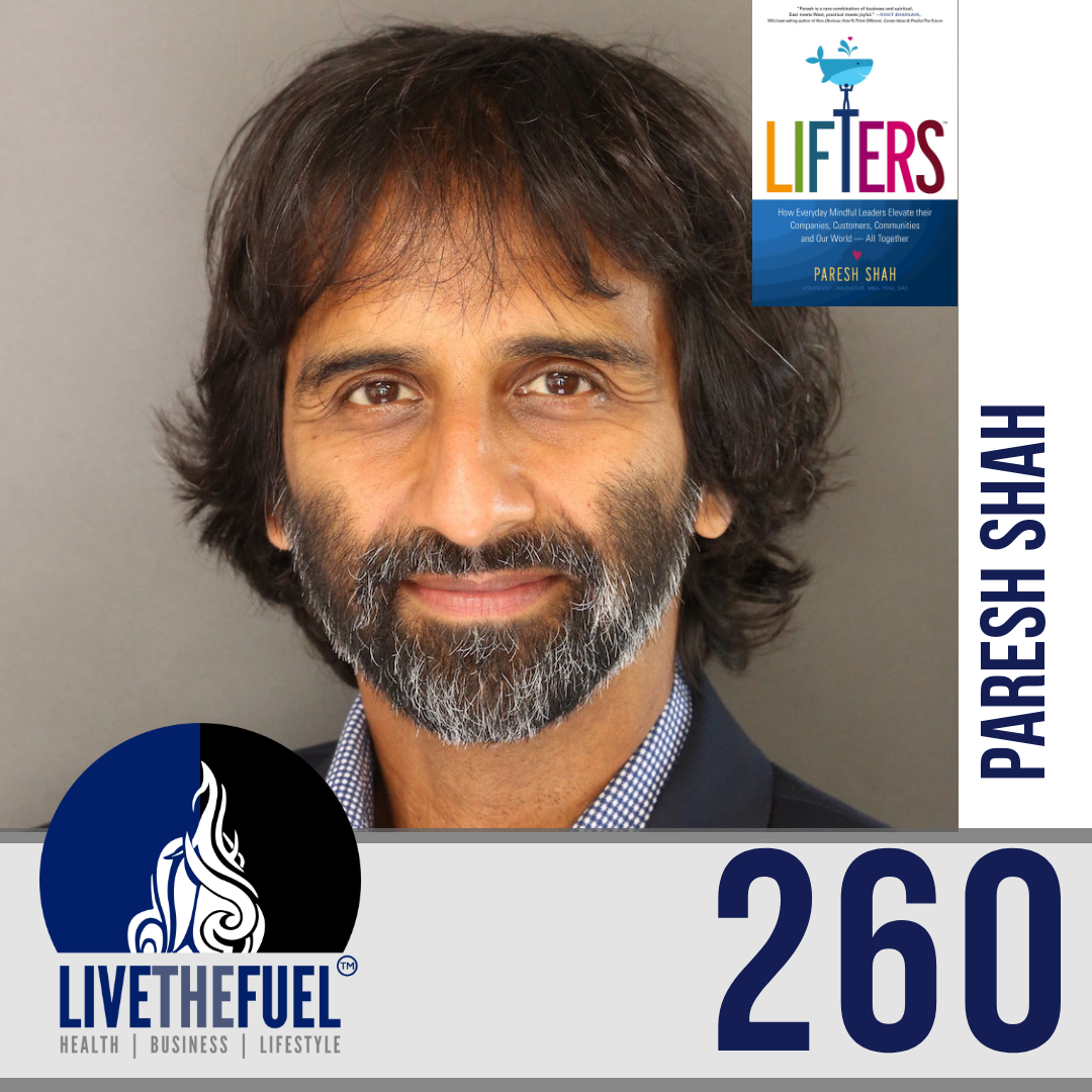 Follow @pareshshah1 for Business Podcast 260: Your Mindset Wiring and Become a Lifter! Paresh Shah