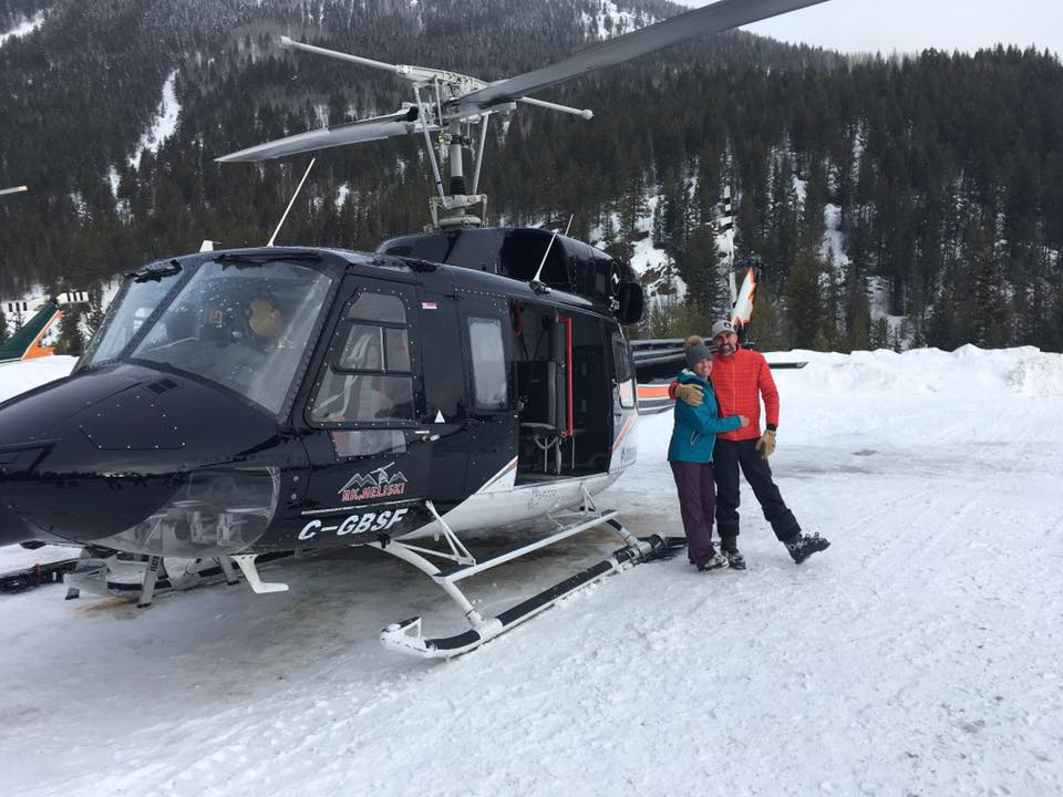 Click to visit our HELIYES Album 262: Our #HELIYES Heliskiing Wedding Adventures