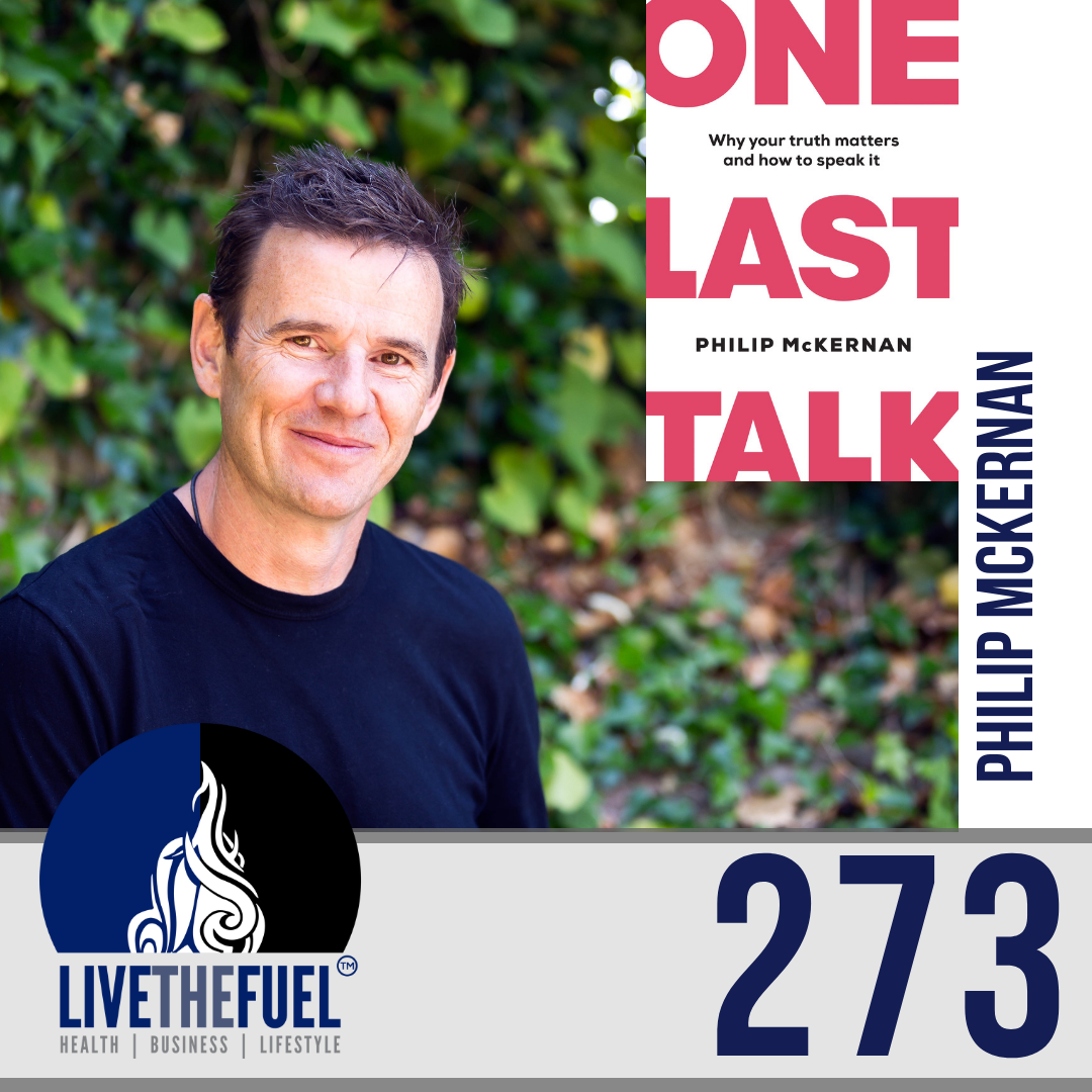 Follow @Philip_McKernan on IG from Business Lifestyle Podcast 273: Strength in Vulnerability, Transparency, Truth, and One Last Talk Movement