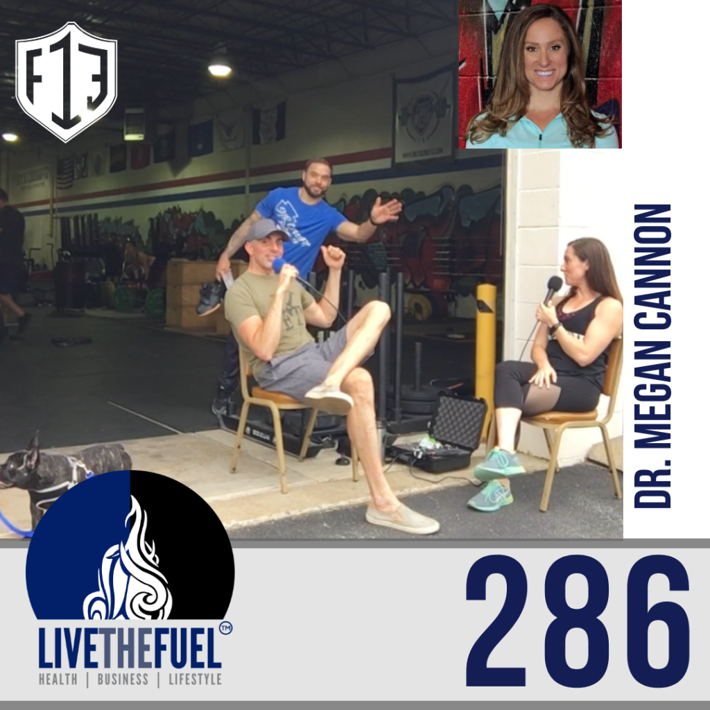 Follow @DrMeganCannon on IG from Podcat 286: Anniversary Reflection Part II and Sports Psychology at F13 Performance