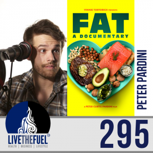 Follow @peterpardini from Health Podcast 295: FAT a documentary Film Director Peter Pardini