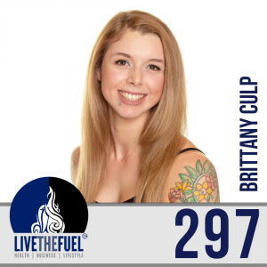 Follow @culpbrit from Lifestyle Podcast 297: Blind Fury Fitness Model, Trainer, Psychology, and Sociology - Brittany Culp