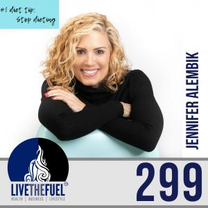 Follow @JenniferAlembik from Health Podcast 299: Food Addiction & Personal Responsibility