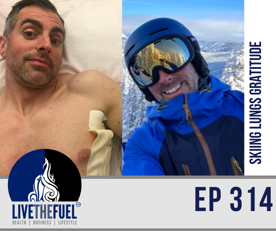 Skiing Lungs Gratitude for #FUELUP Friday ep 314