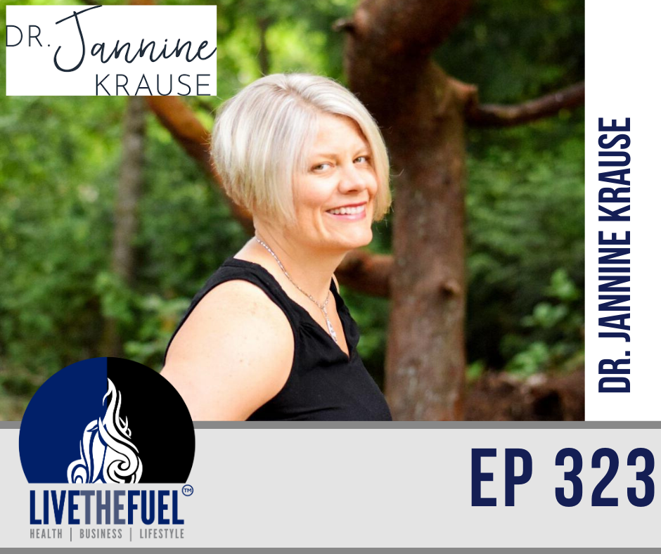 Firefighters, Gut Health, the Health Fix Podcast with Dr. Jannine Krause
