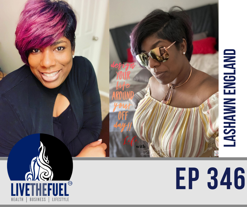 Socially Fit, Embracing Change, Networking, and Empowerment with LaShawn England on LIVETHEFUEL