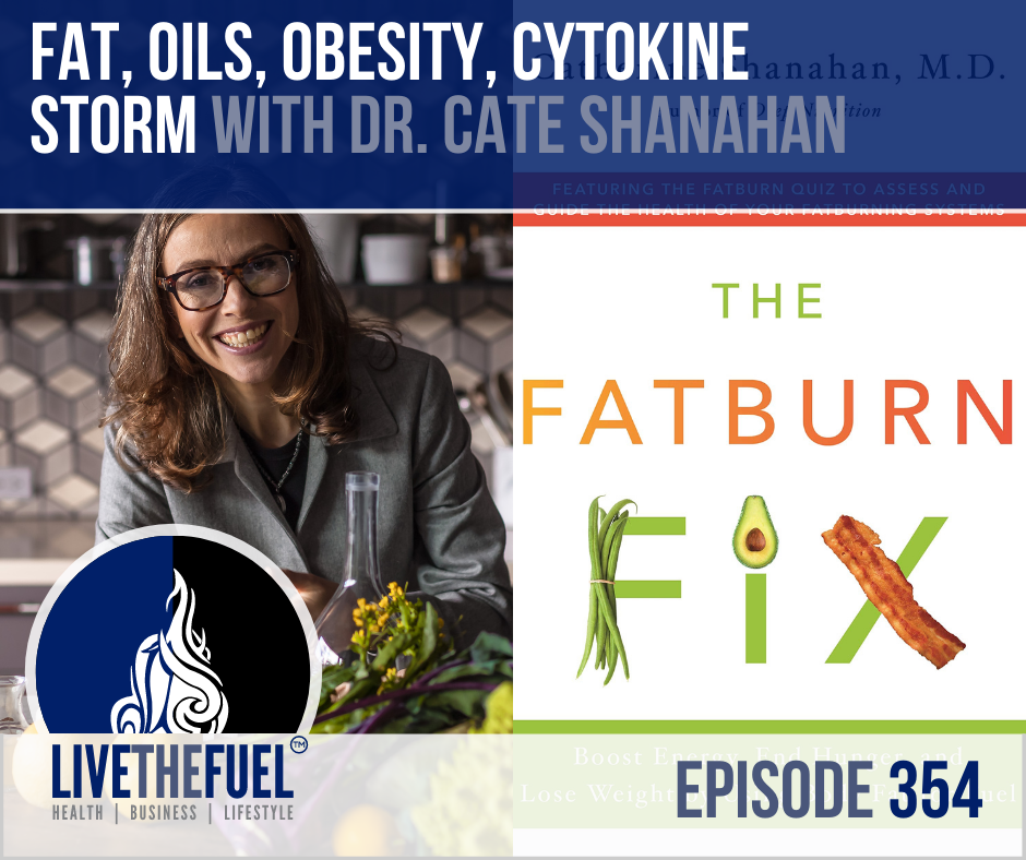 FAT, Oils, Obesity, Cytokine Storm with Dr. Cate Shanahan on LIVETHEFUEL