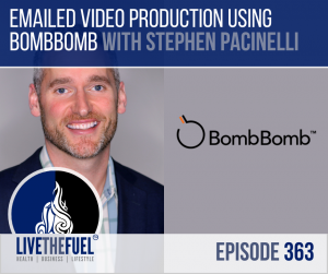 Video Production and Email Marketing with BombBomb's Stephen Pacinelli