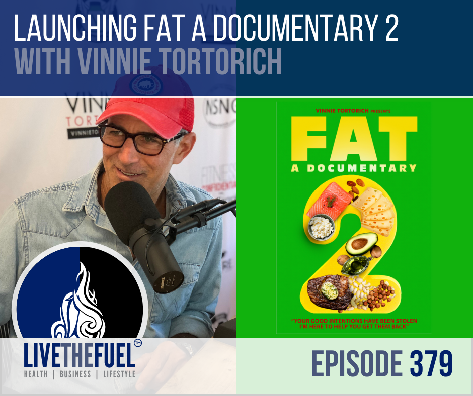Launching FAT A Documentary 2 with Vinnie Tortorich on LIVETHEFUEL