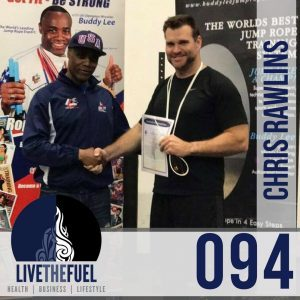 094: Taekwon-do, CrossFit, and UltraRunning with Olympian Jump Ropes