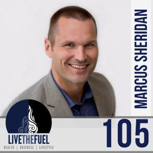 "Episode 105, the new book ""They Ask, You Answer"" with the Passionate Sales Lion Marcus Sheridan"