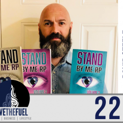 Podcast 223: Stand By Me RP aka Retinitis Pigmentosa with The Blind Poet