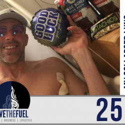 250: My 250th Podcast, My Collapsed Lung Surgery, and Hospital Health Tips